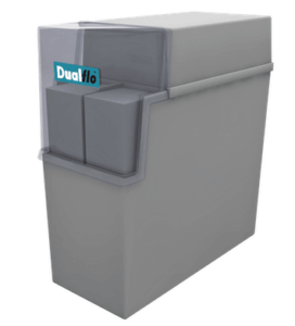 Dualflo water softener installation