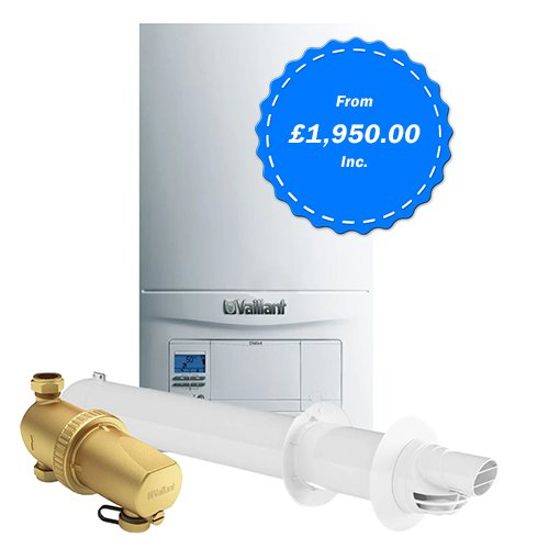 New boiler price - boiler installation - vaillant package